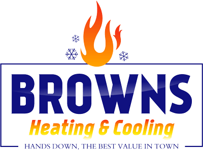 Browns Heating & Cooling logo
